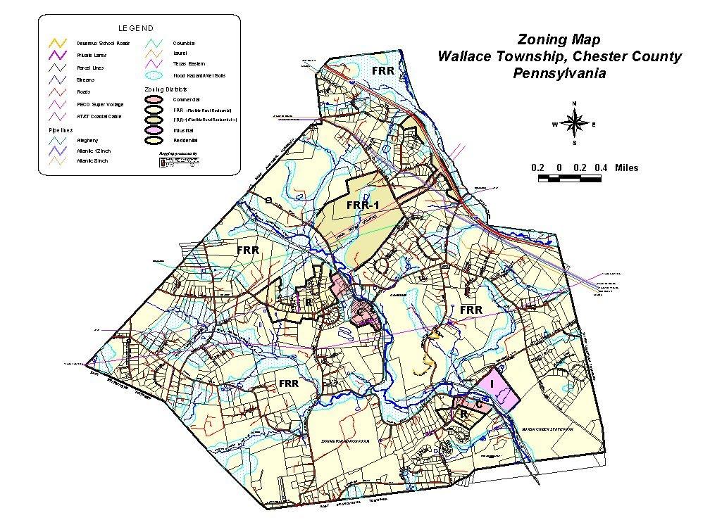Zoning Map - Wallace Township on floodplain map of pa, street map of pa, address map of pa, topo map of pa, agriculture map of pa, public land map of pa, precinct map of pa, employment map of pa, construction map of pa, land use map of pa,